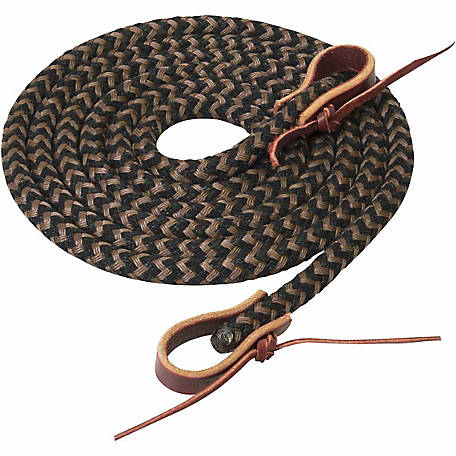 Silvertip Horseman Braid Roper Rein, 1/2 in. x 8 ft.