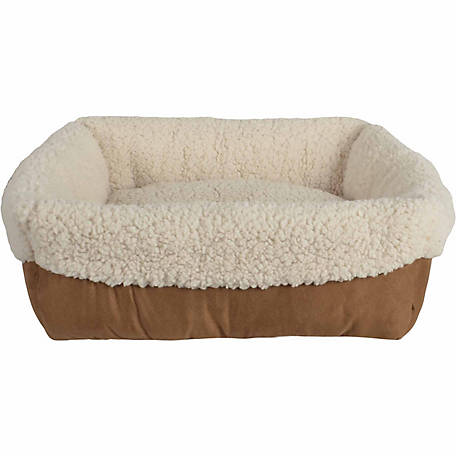Pet Spaces Cuff Bed, 17 in. x 17 in. x 6 in.