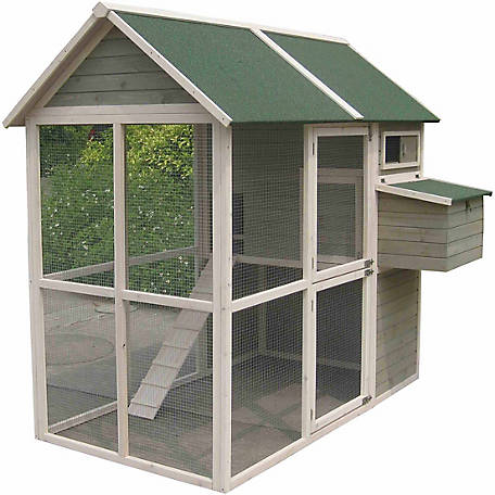 Innovation Pet Coops & Feathers Walk-In Hen Coop