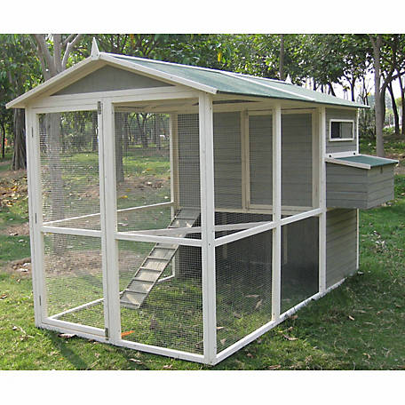 Innovation Pet Extreme Walk In Hen Chicken Coop Up To 12 Chickens