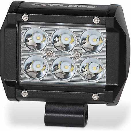 Cyclops 18W Dual Row Bottom Mount Light Bar