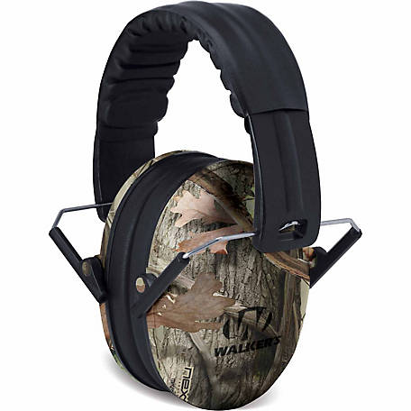 Walkers Game Ear Baby and Kid's Folding Muff, Camo