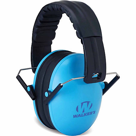 Walker's Game Ear Baby and Kid's Folding Muff, Blue