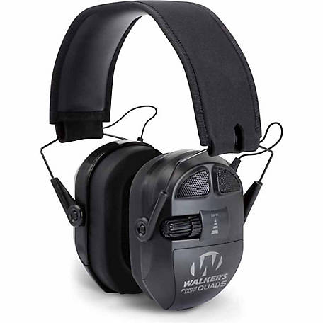 Walker's Game Ear Ultimate Muff, Black