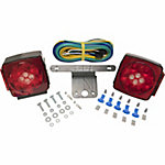 Blazer C7425 LED Submersible Trailer Light Kit with Integrated Back-Up Lights