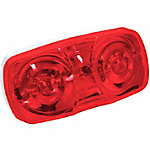 Blazer B444R 4 in. Dual-Bulb Clearance/Side Marker, Red