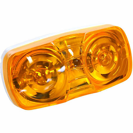Blazer B444A 4 in. Dual-Bulb Clearance/Side Marker, Amber