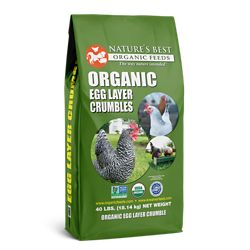 Shop Nature's Best Organic Crumbles at Tractor Supply Co.