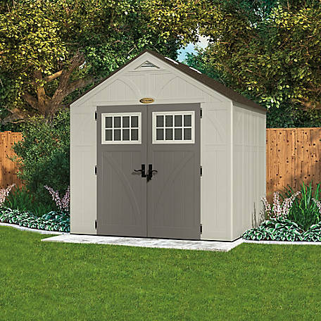 Suncast Tremont 8 ft. x 7 ft. Storage Shed