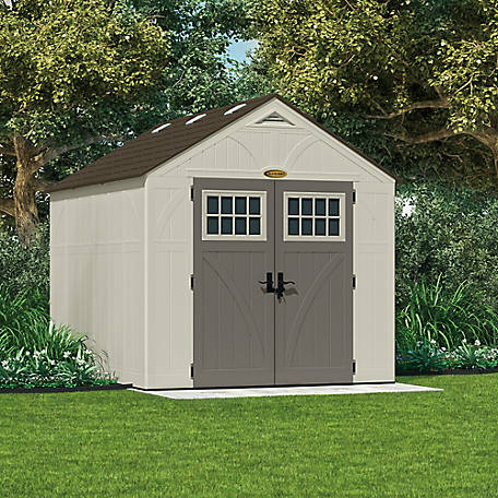 Suncast Tremont 8 ft. x 10 ft. Storage Shed