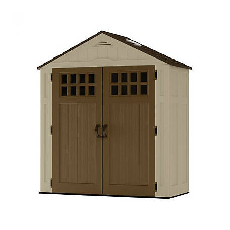 Suncast Everett 6 ft. x 3 ft. Storage Shed