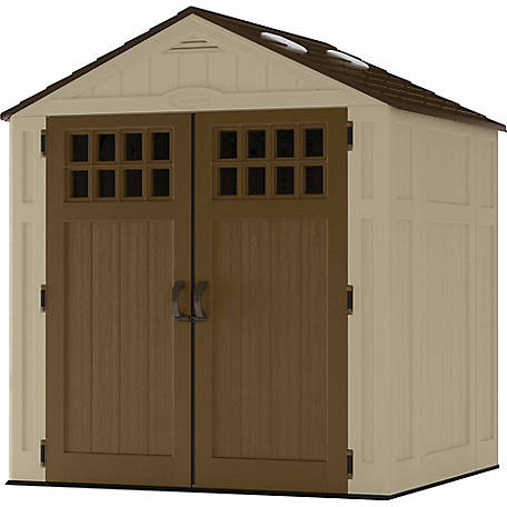 Suncast Everett 6 ft. x 5 ft. Storage Shed
