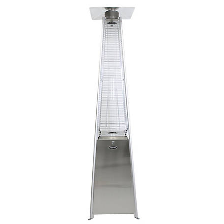 Dyna-Glo DGPH302SS 42,000 BTU Stainless Steel Pyramid Flame Patio Heater