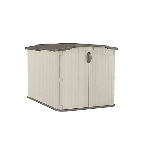Suncast Glidetop 90 cu. ft. Horizontal Shed