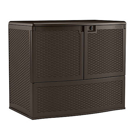 Suncast Backyard Oasis 195 Storage and Entertaining Station