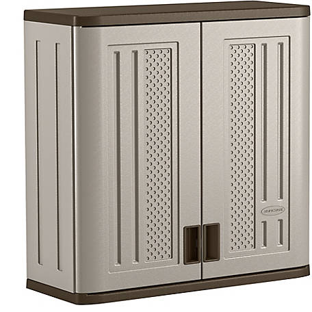 Suncast Wall Storage Cabinet, 1 Shelf