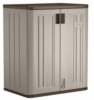 Suncast Base Storage Cabinet 2 Shelf