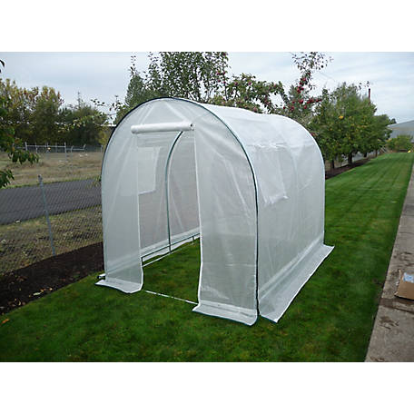 Weather Guard Round Top Greenhouse, 8 ft.6 in. H x 12 ft.W x 20 ft.L, IS 63100