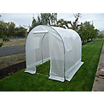 Weatherguard Round Top Greenhouse, 8 ft.6 in. H x 12 ft.W x 20 ft.L