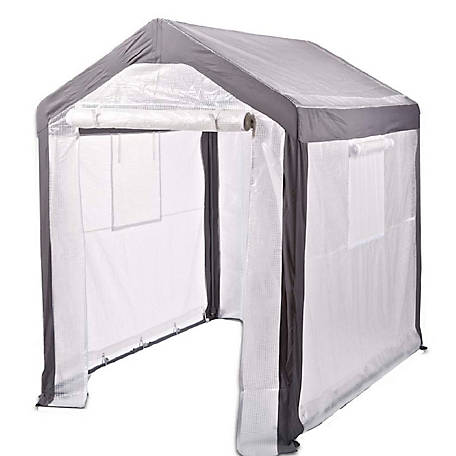 Spring Gardener Gable Greenhouse, 6 ft.6 in. H x 5 ft.W x 6 ft.L, IS 70506