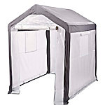 Spring Gardener Gable Greenhouse, 6 ft.6 in. H x 5 ft.W x 6 ft.L