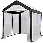 Spring Gardener Gable Greenhouse, 8 ft. H x 8 ft. W x 10 ft. L