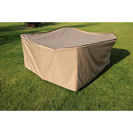 TrueShade Plus Square Table Cover, CT0848436TN