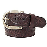 Roper Women's Floral Design Brown Belt