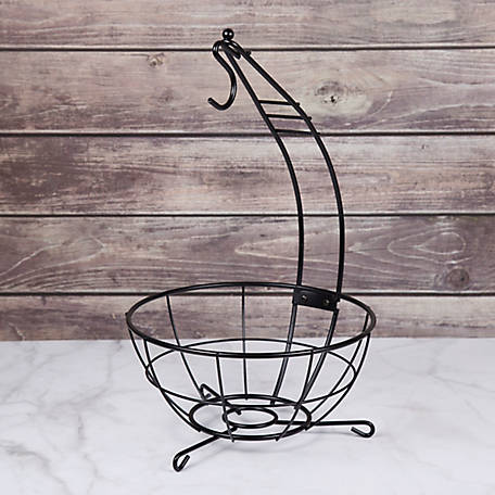 Creative Home Iron Works Banana Tree/Fruit Basket, 73137