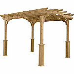 Suncast 10 ft. x 12 ft. Wood Pergola