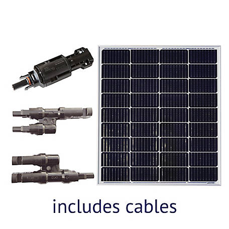 Grape Solar 100W Off-Grid Solar Panel Expansion Kit, GS-100-EXP