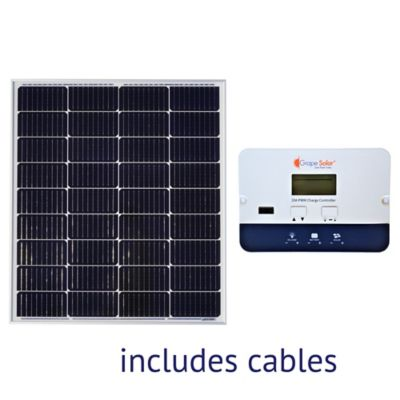 Buy Grape Solar 100W Basic Off-Grid Polycrystalline Silicon Panel Kit Online