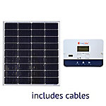 Grape Solar 100W Basic Off-Grid Polycrystalline Silicon Panel Kit, GS-100-BASIC