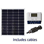 Grape Solar 100W Off-Grid Solar Panel Kit, GS-100-KIT