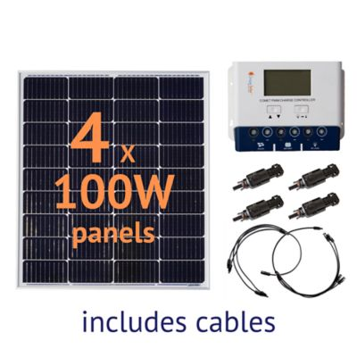 Buy Grape Solar 400W Off-Grid Solar Panel Kit Online