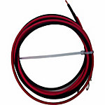 Grape Solar 6 ft. 10 AW G Bare Wire to Ring Lug Cable, GS-CBL-CC-5
