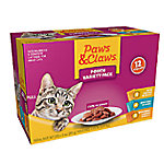 Paws & Claws Pouch Variety Pack, Pack of 12 (3 oz. Pouch)