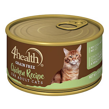 4health Grain Free Chicken Recipe For Cats 3 Oz Can At Tractor