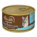 4health Grain-Free Salmon Recipe in Broth for Cats, 3 oz. Can