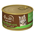4health Grain-Free Chicken Recipe in Broth for Cats, 3 oz. Can