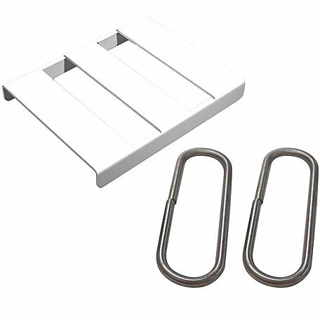 Sure-Hook Splice Buckle, White