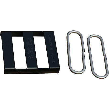 Sure-Hook Splice Buckle, Black