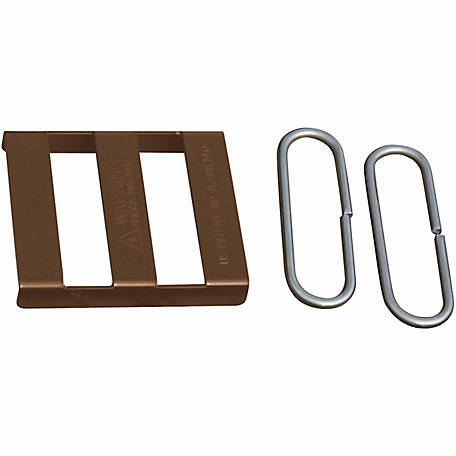Sure-Hook Splice Buckle, Brown