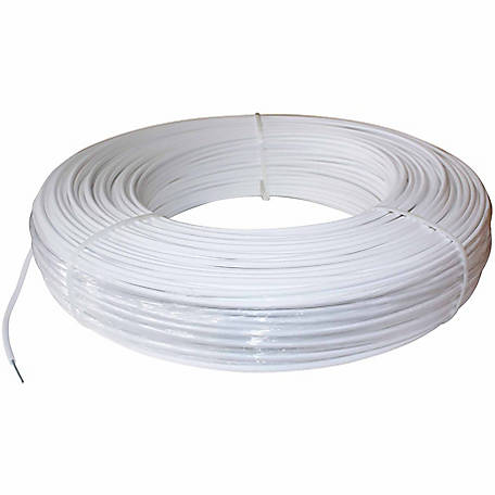 PolyPlus Coated Non-electric High Tensile Wire Fence, 1,320 ft. Roll, White