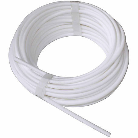 Centaur Insultube for White Lightning Electric Coated Wire Fence, White