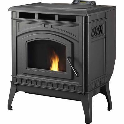 PelPro TSC90 Cast-Iron Pellet Stove, EPA-Certified - For Life Out Here - Tractor Supply Wood Stove WB Designs