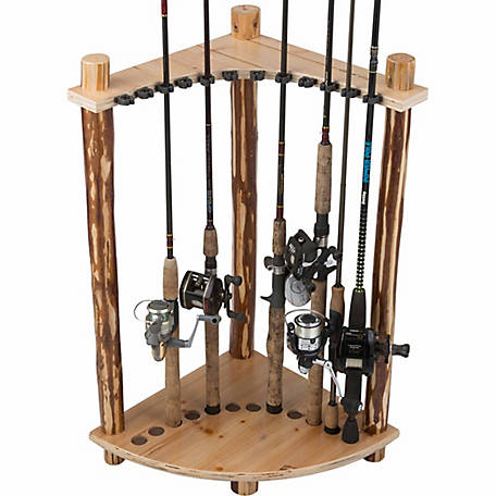 Rush Creek Creations 12-Rod Corner Rack