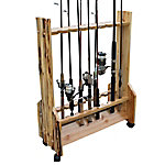 Rush Creek Creations 16-Rod Double-Sided Rolling Rack