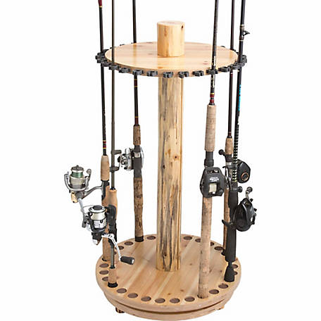 Rush Creek Creations 30-Rod Round Spinning Rack