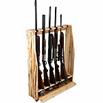 Rush Creek Creations 6-Gun Rack with Storage